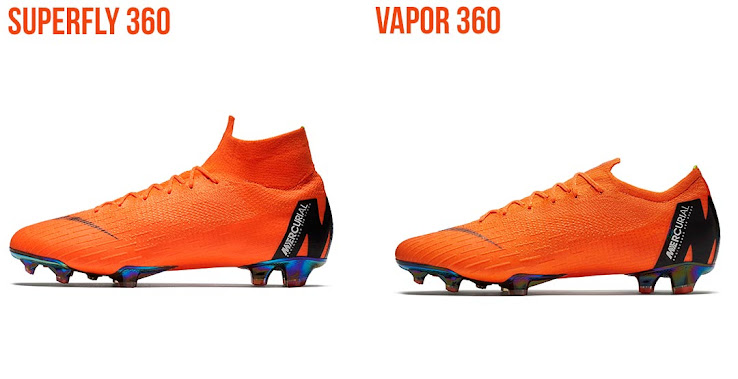the latest 927f1 12eb5 Just One Difference? Next-Gen Nike Mercurial Superfly 360 vs ...