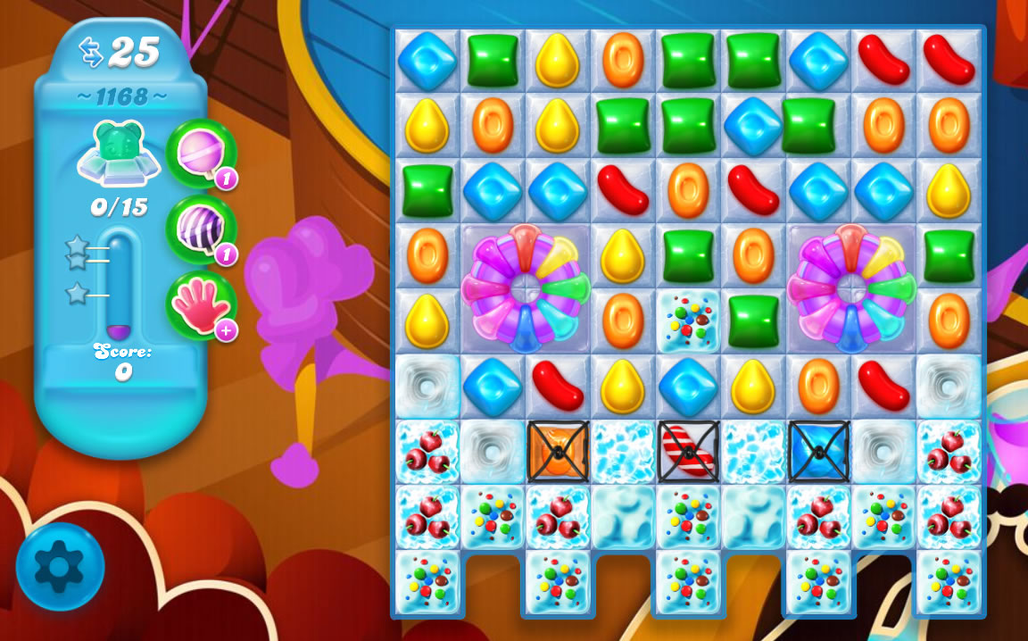 Candy Crush Soda Saga level 1168