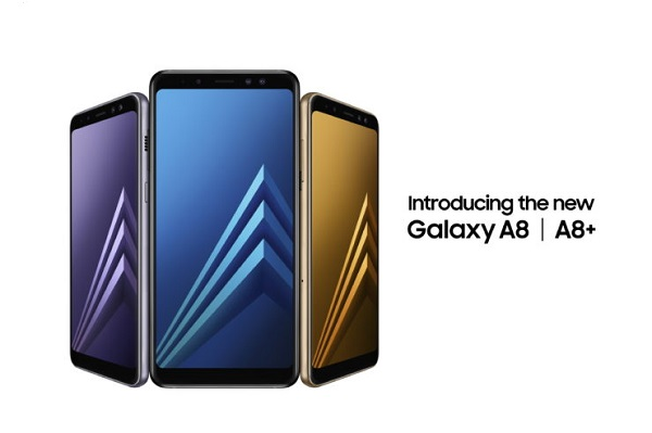 SAMSUNG Galaxy A8 (2018) and Galaxy A8+ (2018) unveiled with Infinity Display and Dual Front Cameras