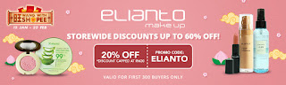 Shopee, Kempen Hari Gaji Shopee, Jualan Murah, Online Shopping Website, Shopee Malaysia, Elianto, XES, L'Oreal, Nestle, barang make-up, alat solek, skincare,