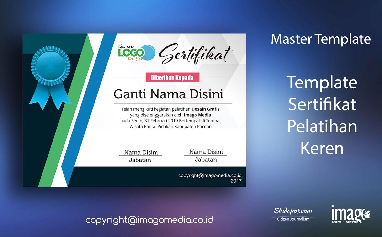 louisiana id template - download desain template sertifikat pelatihan keren