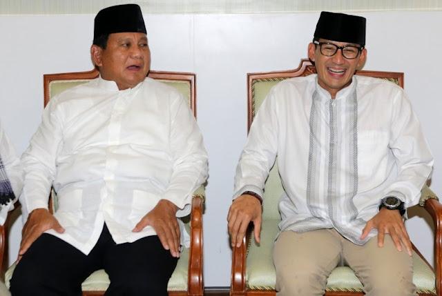 Prabowo-Sandi Unggul Atas Jokowi-Maruf di Palu
