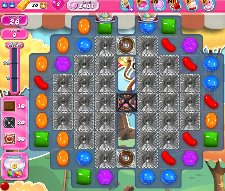 Candy Crush Saga level 2431