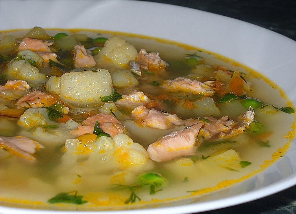 рыбный суп из форели рецепт с фото
