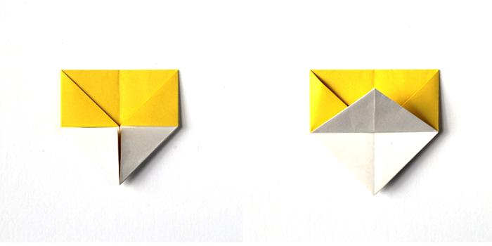 Kağıt Katlama İle Basit Yumurtalık Yapımı 8