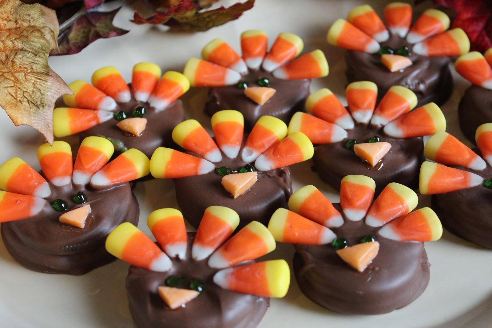 The Mandatory Mooch Turkey Cookies