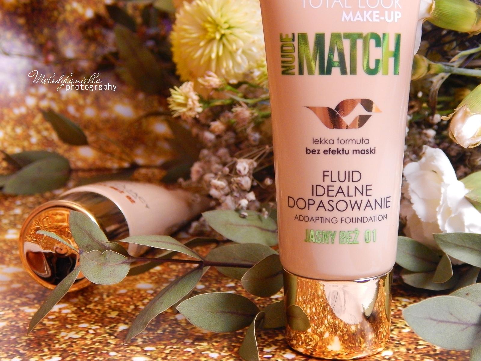 5 BIELENDA NUDE MATCH FLUID recenzja podkładu melodylaniella jak dobrać odpowiedni podkład do swojej skóry idealne dopasowanie fluidu