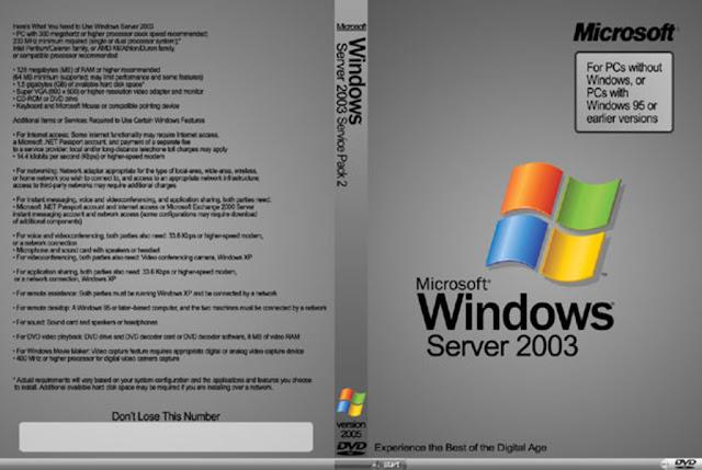 windows server 2003 iso
