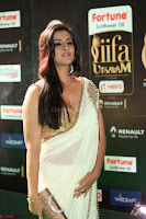Varalakshmi in Cream Saree Sleeveless Backless Deep Neck Choli at IIFA Utsavam Awards March 2017 040.JPG