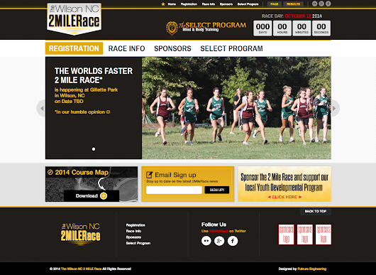 2 Mile Race website