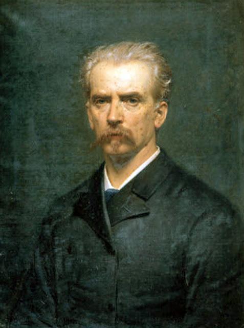 Napoleone Nani, Self Portrait, Portraits of Painters, Fine arts, Portraits of painters blog, Paintings of Napoleone Nani, Painter Napoleone Nani
