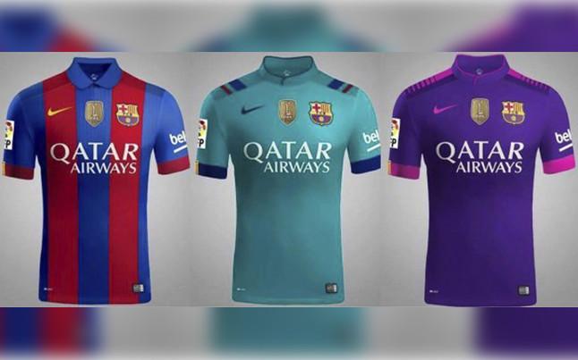 La nueva equipación del FC Barcelona para 2016-2017  f0b9f4487a2