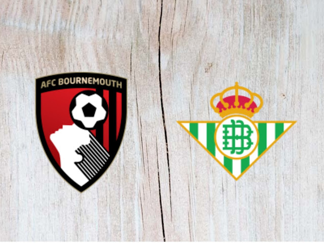 Watch AFC Bournemouth vs Real Betis - Highlights - 03 August 2018