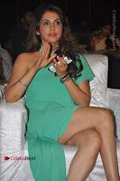 Actress Isha Koppikar Pos in Green Dress at Keshava Telugu Movie Audio Launch .COM 0026.jpg