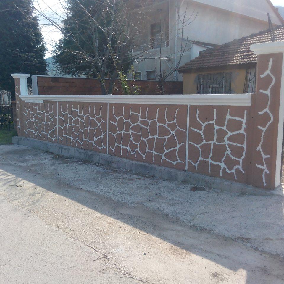 Desenli Bahçe Duvarı 0537 793 8717