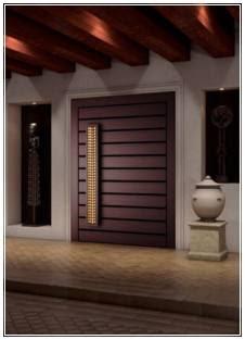 model daun pintu utama elegan