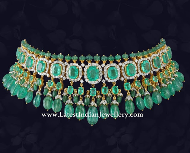 Enchanting Emerald Choker