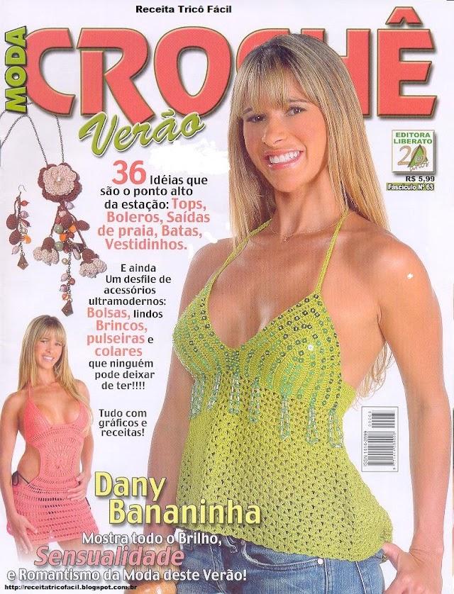 Moda Crochê Verão-Revista Crochê Verão