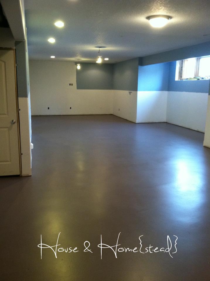 House And Home Stead Basement Floors