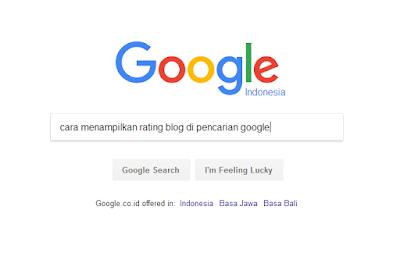 Cara Menampilkan Rating Bintang di Hasil Pencarian Google