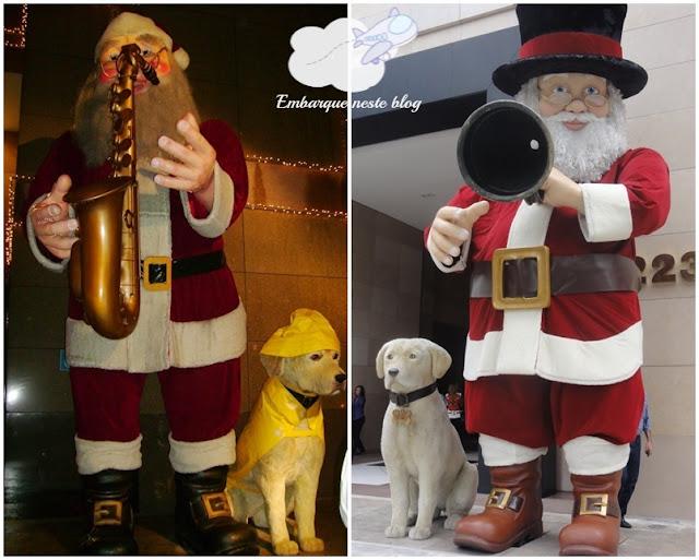 Decoração Tradicional de Natal, Shopping Iguatemi/SP