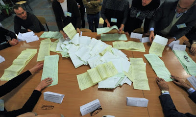 The process of counting of the votes at the elections is dragging on