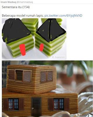 5 Meme 'Rumah Lapis' Ini Terinspirasi dari Anies - Sandi, Nyindir Nih?