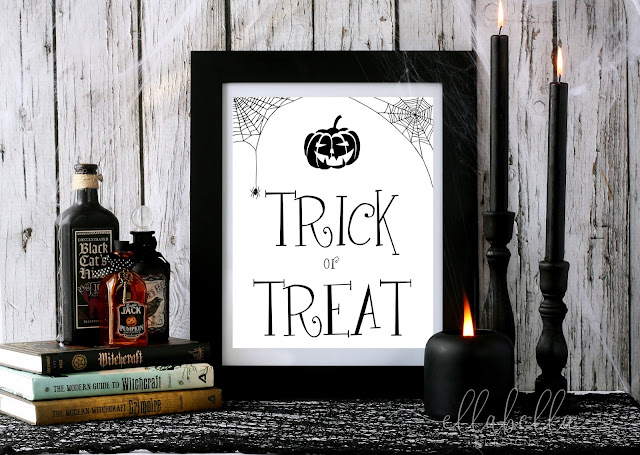 FREE Halloween Wall Art Printables to Decorate Your Home
