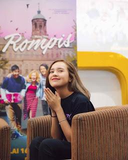 Profil dan Biografi Beby Tsabina pemeran Meira di film rompis roman picisan 2018