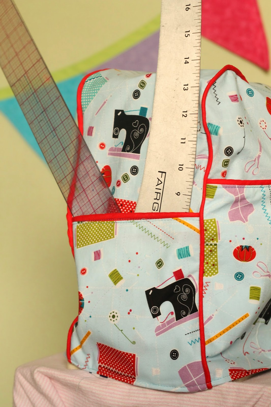 Diy sewing machine cover with piping gyct designs