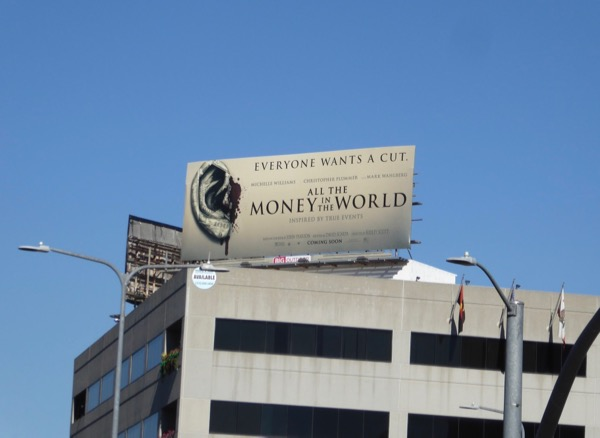 All Money in World movie billboard