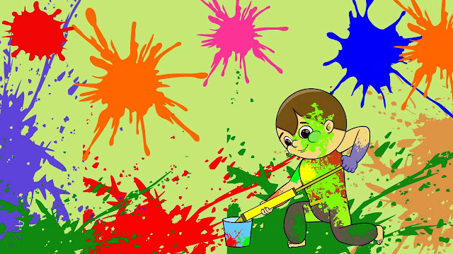 Happy Holi Animated Pics