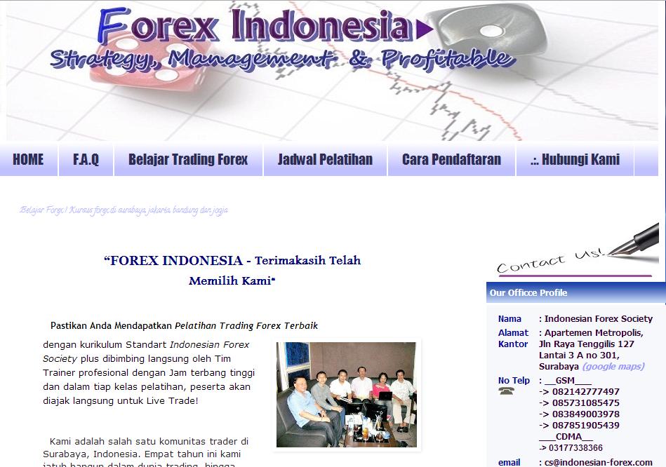 Pelatihan trading forex