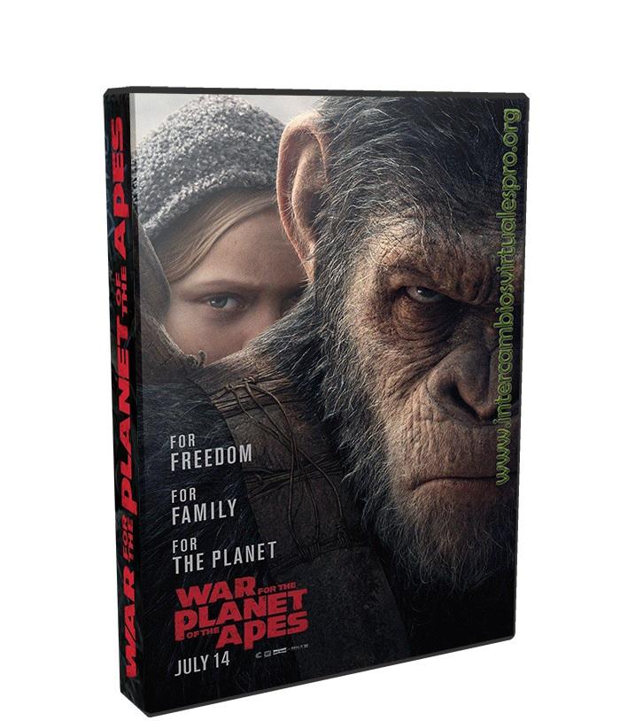 El planeta de los simios: La guerra 2017 poster box cover