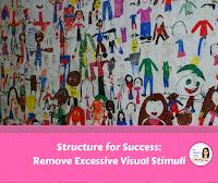 remove excessive visual stimuli