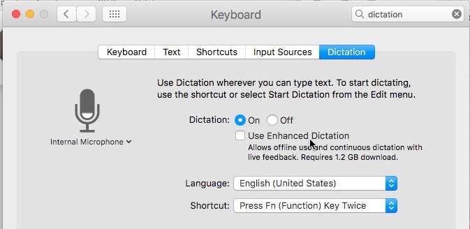 disable-enhanced-dictation How to Recover Mac Space by Uninstalling the Enhanced Dictation Pack Technology