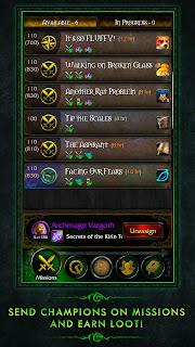 Download World Of Warcraft Legion Companion v1.0.0 Apk Screenshot 1