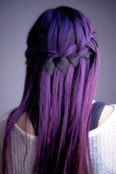 Hair Color Corner: Plum and more Plum Color