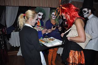 Lunes 31 de Octubre 2016 Cena de Halloween Palacio de Villabona
