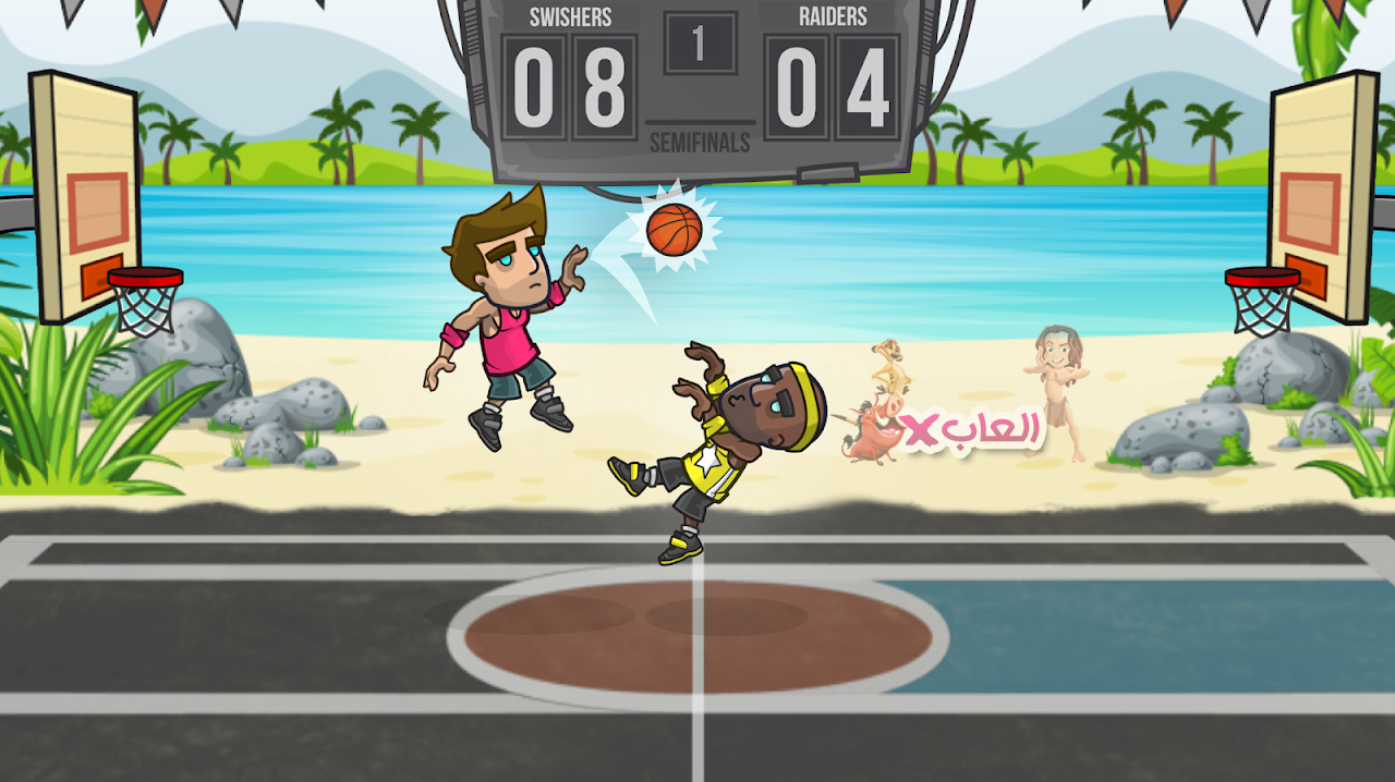تحميل لعبة Basketball Battle مهكرة