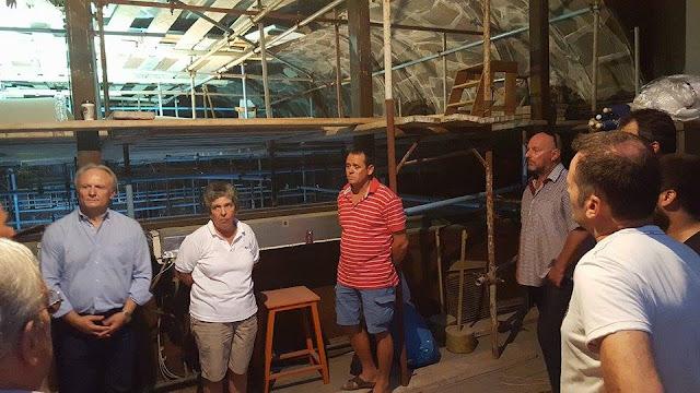 Νέα παρέμβαση Ανδριανού σε Κονιόρδου για την πορεία αποκατάστασης των ζημιών στον Ιερό Ναό Αγίου Νικολάου Ναυπλίου