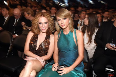 Abigail Anderson with Taylor Swift