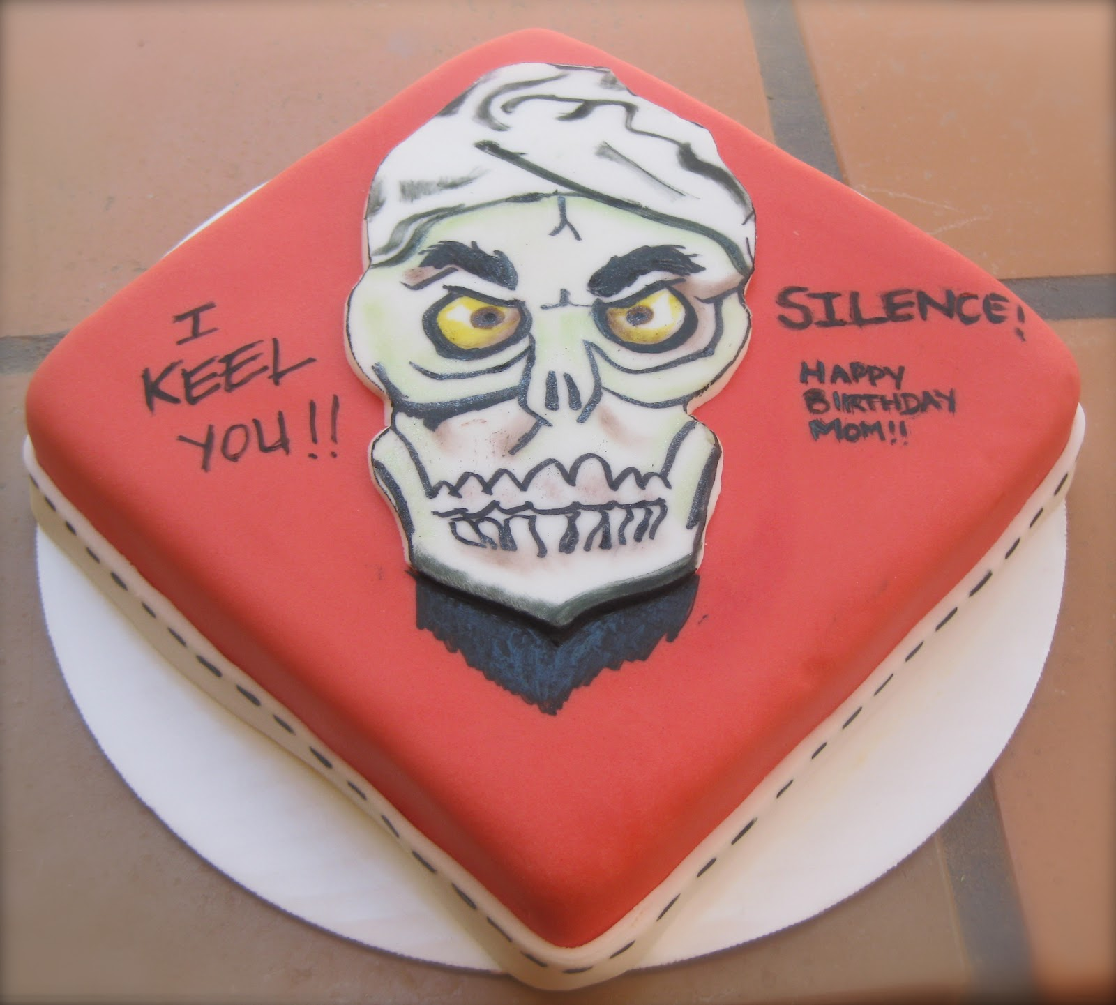 Jeff Dunham Birthday Cake