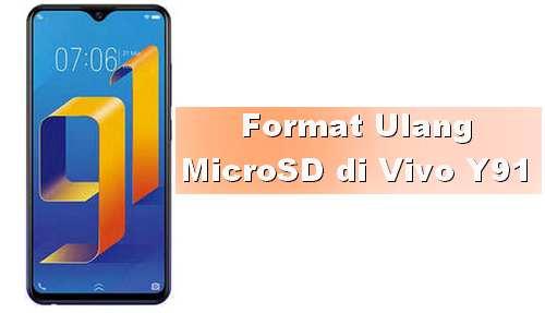 Tips Vivo Y91 Cara Format dan Melepas Kartu MicroSD dengan Aman