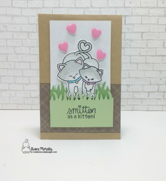 Smitten as a kitten by Diane features Newton's Sweetheart by Newton's Nook Designs; #newtonsnook
