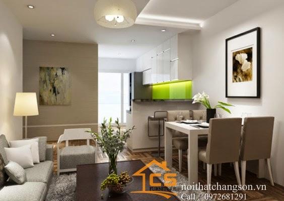 Thiết kế và thi công nội thất chung cư Trung Văn