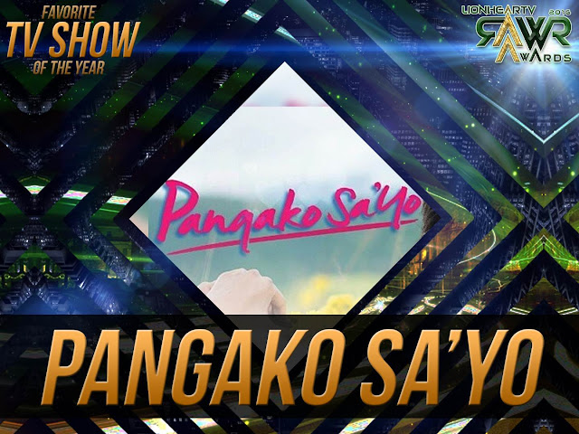 "CUB: KathNiel's ""Pangako Sa 'Yo"" wins Favorite TV Show of the Year #RAWRAwards2016"