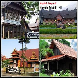 Daftar Rumah Adat Yang Ada Di Taman Mini Indonesia Indah (TMII)
