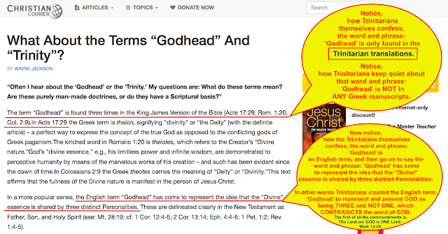 "What About the Terms ""Godhead"" And ""Trinity""? https://www.christiancourier.com/articles/821-what-about-the-terms-godhead-and-trinity"