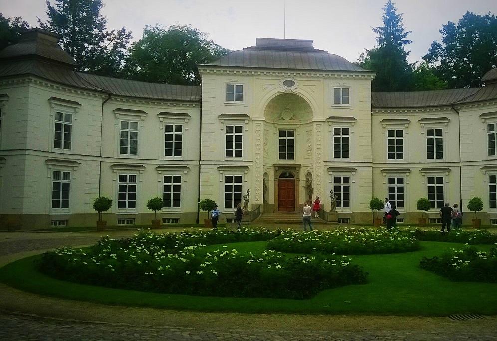 pałac myślewickich